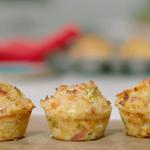 Priya Tew cheese and ham bites recipe