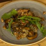 Simon Rimmer Miso Glazed Mushrooms With Barley recipe