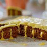 Nadiya Hussain orange and coffee poke cake recipe