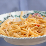 Nonna Maria tuna with courgettes and almonds pasta recipes on Jamie Cooks Italy