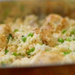 Nadiya Hussain chicken and rice bake on Nadiya's Family Favourites