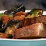 Tom Kerridge Portuguese Mussel Stew recipe on Sunday Brunch