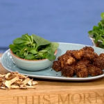 Dr Rupy healthy fast food popcorn chicken recipe on This Morning