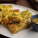 Simon Rimmer Vegan Sweet Potato Sage and Mushroom Strudel recipe on Sunday Brunch