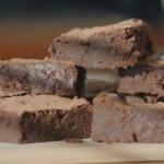 Liam's dark chocolate brownies recipe on Liam Bakes