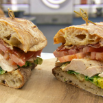 Marcus Wareing chicken and bacon sandwich with homemade mayonnaise on MasterChef: The Professionals