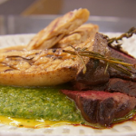 Marcus Wareing hanger steak with chimichurri sauce recipe on MasterChef: The Professionals