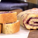 Phil Vickery jungle bean burger and jam roly poly recipes on This Morning
