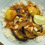 Simon Rimmer Aubergine Massaman Curry recipe on Sunday Brunch