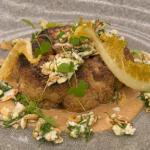 Marcus Wareing cauliflower steak with cashew nut butter recipe on MasterChef: The Professionals