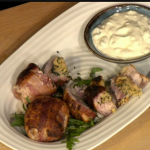 Simon Rimmer Stuffed Chicken Thighs recipe on Sunday Brunch