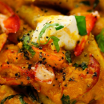 Simon Rimmer Lobster With Gnocchi And Tomato recipe on Sunday Brunch