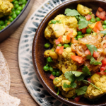 Simon Rimmer Curried Cauliflower And Peas recipe on Sunday Brunch