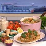 Phil Vickery one pot chicken biryani recipe on This Morning