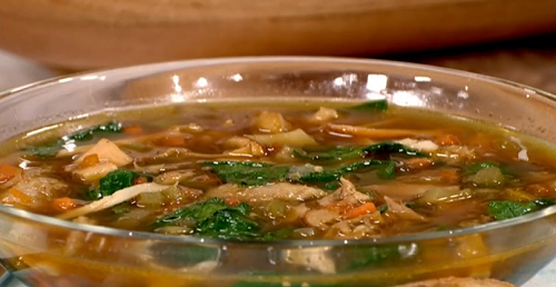 Phil Vickery ultimate chicken soup recipe on This Morning ...