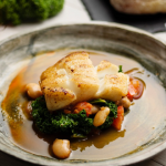 Simon Rimmer Cod With Smoky Beans recipe on Sunday Brunch