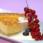 Simon Rimmer classic custard tart recipe on Sunday Brunch