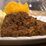 Phil Vickery vegetarian haggis recipe on This Morning