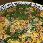 Gino's Italian sausage with broccoli and shell pasta recipe on This Morning