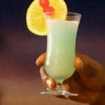 Ainsley Harriott blue water breeze recipe on Ainsley's Caribbean Kitchen