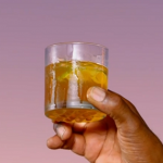 Ainsley Harriott corn oil cocktail with dark rum recipe on Ainsley's Caribbean Kitchen