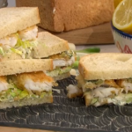 Phil Vickery fish fingers with tartare sauce recipe on This Morning