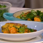 Dr Rupy chicken coconut curry recipe on This Morning