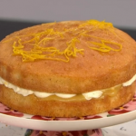 Juliet Sear lemon drizzle cake recipe on This Morning
