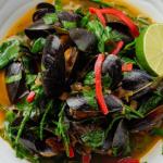 Simon Rimmer Sri Lankan Mussells recipe on Sunday Brunch