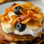 Simon Rimmer Almond Butter Breakfast Pancakes With Coconut  recipe on Sunday Brunch
