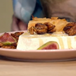 Simon Rimmer Ricotta Filo Tart With Candied Pecans recipe on Sunday Brunch