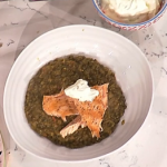 John Torode salmon with spiced lentils recipe on This Morning
