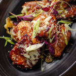 Simon Rimmer Korean Fire chicken thighs with lemonade recipe on Sunday Brunch
