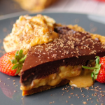 Simon Rimmer Banana and Chocolate tart recipe on Sunday Brunch