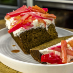James Martin Ginger Loaf Cake With Rhubarb Frosting recipe on James Martin's Saturday Morning