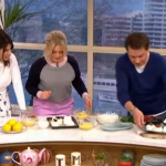 Ruby Bhogal meringue nests for Easter recipe on This Morning