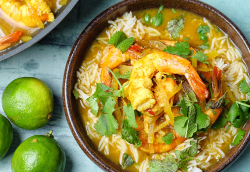 Simon Rimmer Sour Curry With Prawns Recipe On Sunday