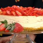 Ruby's summer fruit cheesecake recipe on This Morning