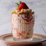Simon Rimmer Strawberry And Elderberry Fool recipe on Sunday Brunch