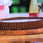 John Partridge chocolate tart recipe on John and Lisa's Weekend Kitchen