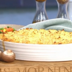 Phil Vickery cottage pie with mushrooms and frozen mash pallets recipe on This Morning