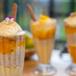 Ching's Mango Sticky Rice Ice Cream Sundae recipe on John and Lisa's Weekend Kitchen