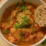Chris Bavin vegetable ragu recipe on Eat Well for Less?