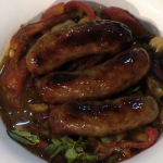 Simon Rimmer White Bean Chilli With Sausages recipe on Sunday Brunch