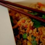 Phil Vickery special fried rice with cauliflower and egg omelette recipe on Save Money: Good Diet