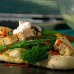 Simon Rimmer Vegan Tofu and Broccoli Kebab recipe on Sunday Brunch