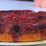 Phil Vickery fruity upside down cake recipe on This Morning