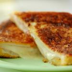 Nadiya Hussain savoury French toast with turmeric and garlic recipe on Nadiya's Time to Eat