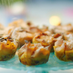 Nadiya Hussain mini apple palm pies recipe on Nadiya's Time to Eat