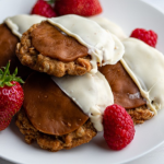 Simon Rimmer White Chocolate and Fudge Oat Biscuits recipe on Sunday Brunch